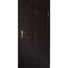 Двері вхідні металеві . Утеплені з обробкою. Броньовані
